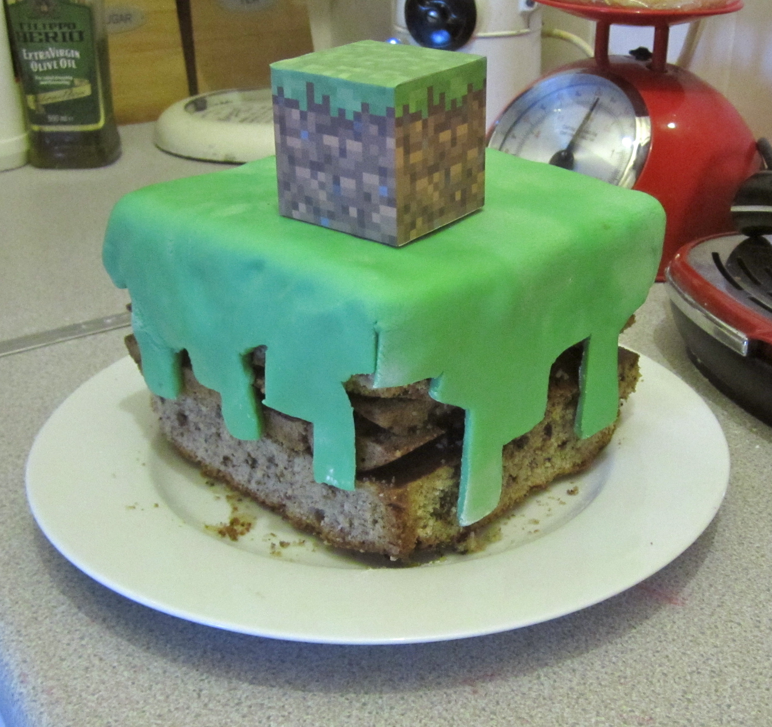 How to make a Minecraft cake Better than Toast Extra Antonia